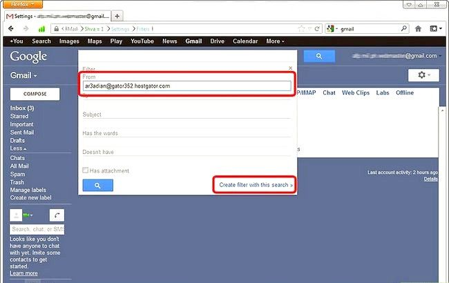 Imaginea intitulată Blochează expeditorii în Gmail Pasul 5