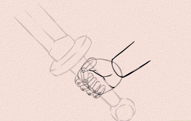 Imagine cu titlul Draw Anime Hands Step 20