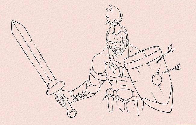 Imagine cu titlul Draw Anime Hands Step 22