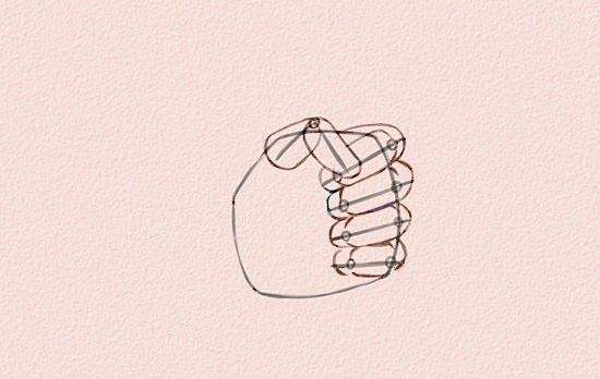Imaginea intitulată 550px Draw Anime Hands Step 11