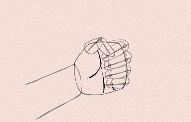 Imagine cu titlul Draw Anime Hands Pasul 5