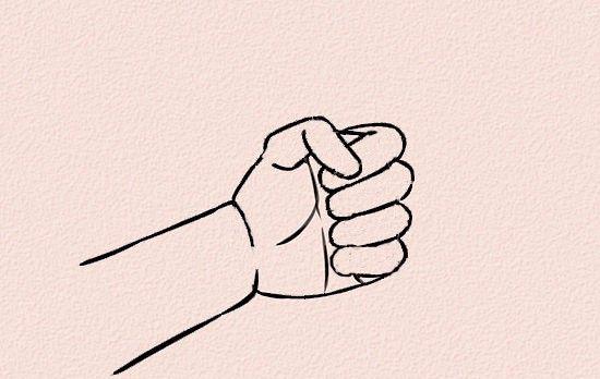 Imagine intitulată 550px Draw Anime Hands Step 23