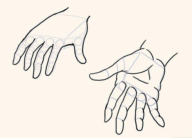 Imagine cu titlul Draw Anime Hands Pasul 7