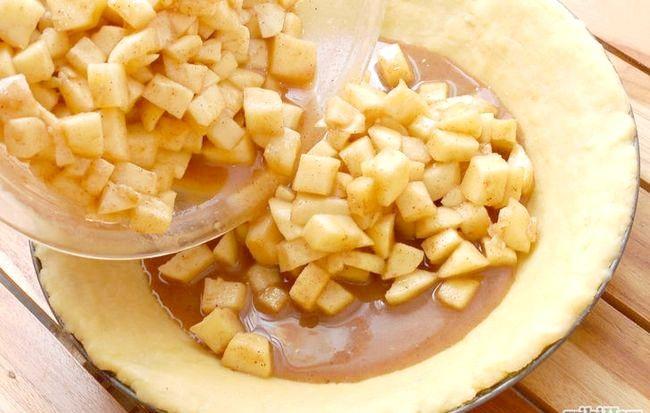 Imaginea intitulată Coaceți o plăcintă de mere de la zero Scenar 13
