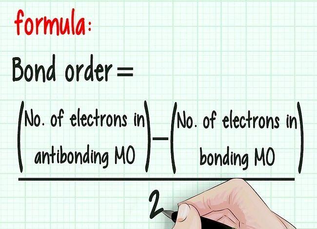 Imaginea intitulată Calculează ordinea obligațiunilor în chimie Pasul 6