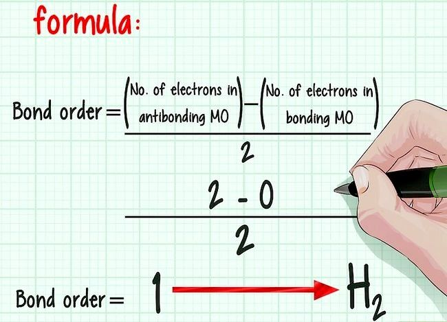 Imaginea intitulată Ordonați ordinea obligațiunilor în chimie Pasul 7