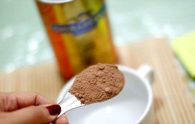 Imaginea intitulată Folosiți cacao ca înlocuitor de ciocolată Pasul 1