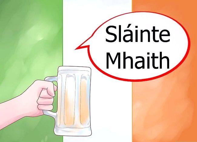 Imagine intitulată Spuneți norocul în limba irlandeză Pasul 2