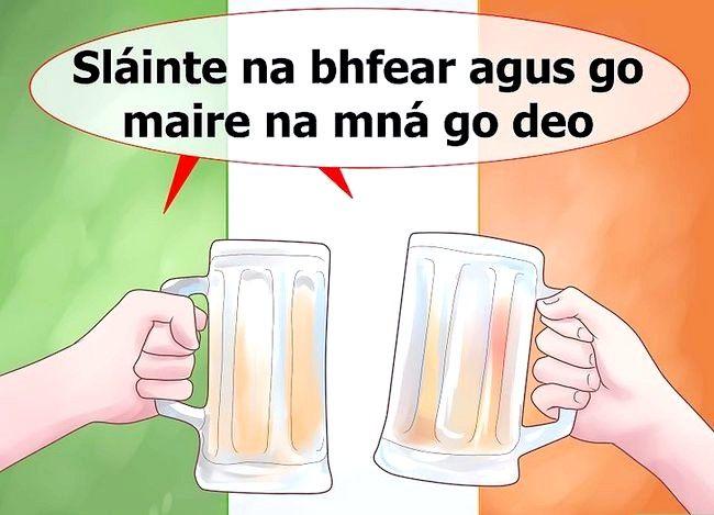 Imagine cu denumirea Spuneți-vă norocul în limba irlandeză Pasul 5