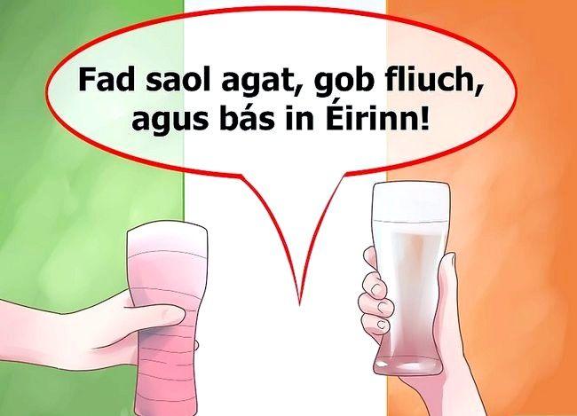 Imagine intitulată Spuneți norocul în limba irlandeză Pasul 7