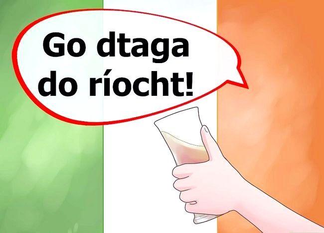 Imagine intitulată Spuneți norocul în limba irlandeză Pasul 9