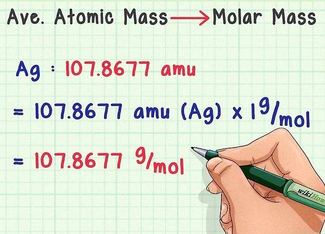 Imaginea intitulată Găsiți masa medie atomică pasul 7