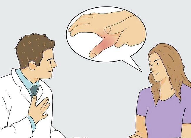Image cu titlul Diagnosticarea unei fracturi miniatură Step 6