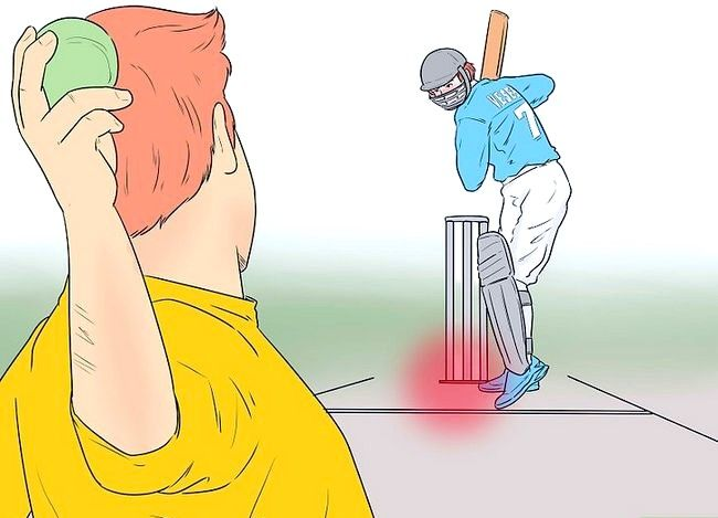 Imagine cu titlul Fii un bowler rapid bun Pasul 4