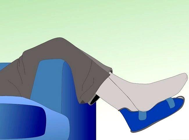 Imagine cu titlul Tratarea unei fracturi de stres la picior Pasul 7