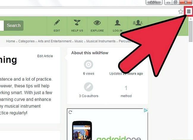 Imaginea intitulată Salvați o pagină Web ca PDF în Google Chrome Pasul 2