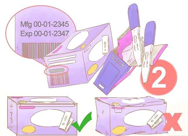 Imaginea intitulată Utilizați un test de sarcină la domiciliu Pasul 1