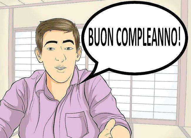 Imaginea intitulată Spuneți ziua de naștere fericită în italiană Pasul 1
