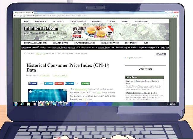 Calculați inflația