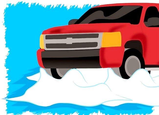 Imaginea intitulată Ia-ți mașina din zăpadă Pasul 4