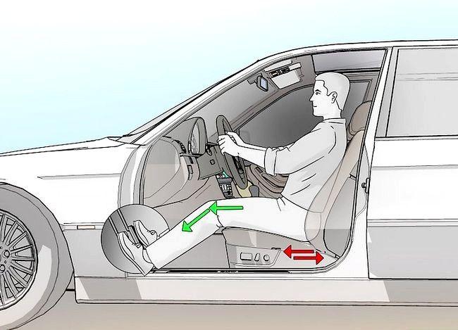 Configurați scaunul auto corect
