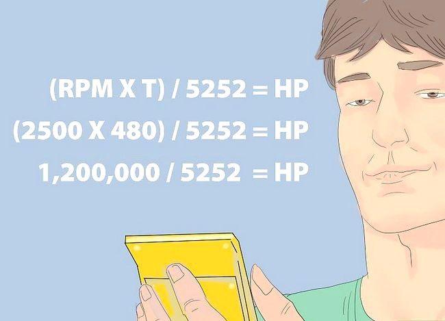 Imaginea intitulată Calculați puterea de cai Pasul 3