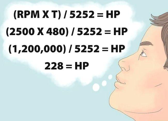 Imaginea intitulată Calculați puterea de cai Pasul 4
