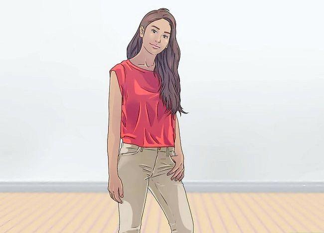 Imaginea intitulată Pose Like a Model Step 1