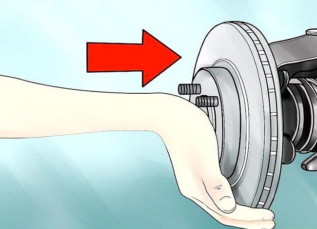 Imaginea intitulată Înlocuirea rotoarelor de frână Etapa 14