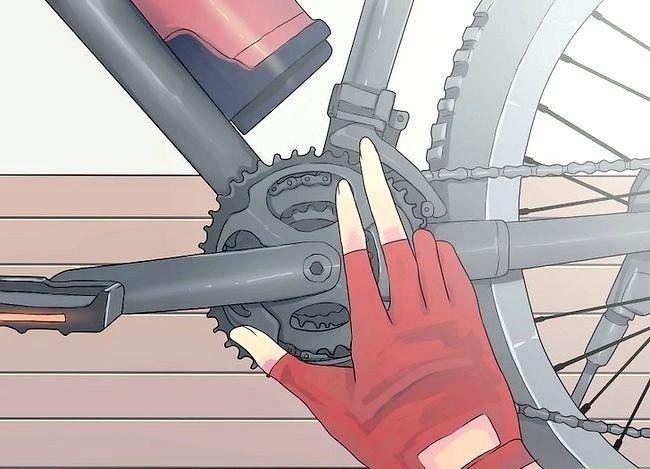 Pornirea unei biciclete