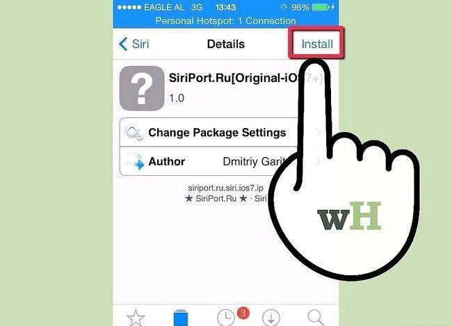 Imagine intitulată Ia Siri pentru iPhone 4 sau 3Gs sau iPod Touch 4G Pasul 6