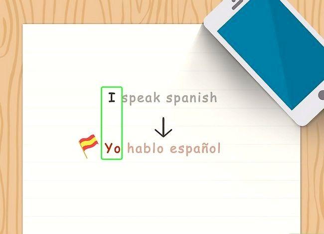 Imagine cu denumirea Conjugate Verbs spaniol (Present Tense) Pasul 2