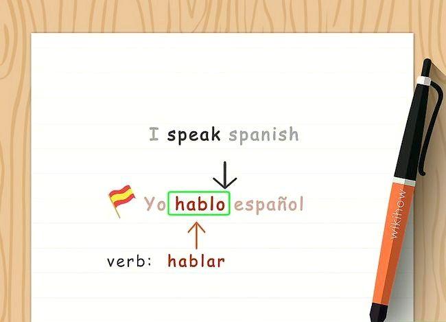 Imaginea in titlul Conjugate verbe spaniole (Present Tense) Pasul 3