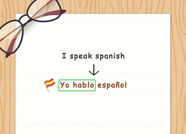 Imaginea in titlul Conjugate verbe spaniole (Present Tense) Pasul 4