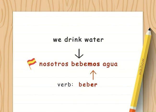 Imagine cu denumirea Conjugate Verbs spaniol (Present Tense) Pasul 5