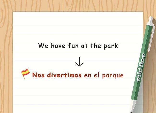 Imaginea in titlul Conjugate verbe spaniole (Present Tense) Pasul 9