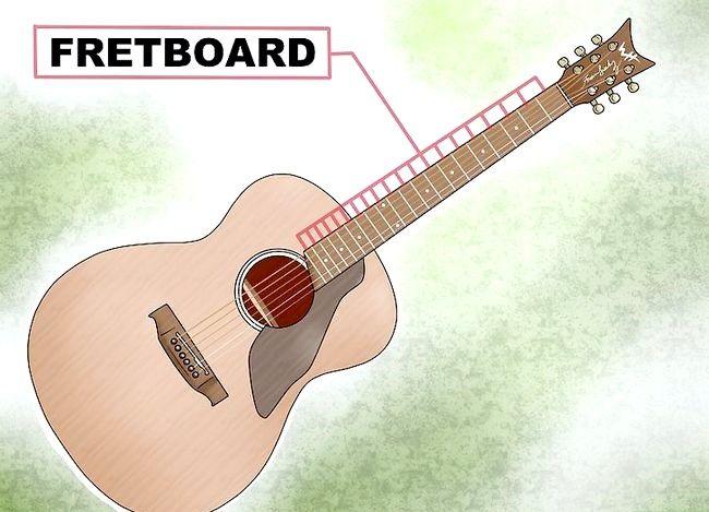 Cântarele învață să joace pe o chitară