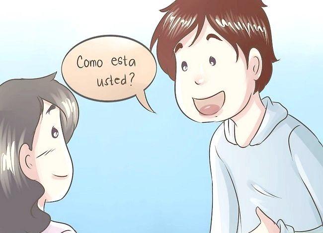 Întrebați cum face cineva în spaniolă