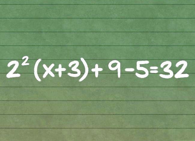 X rezolvă într-o ecuație