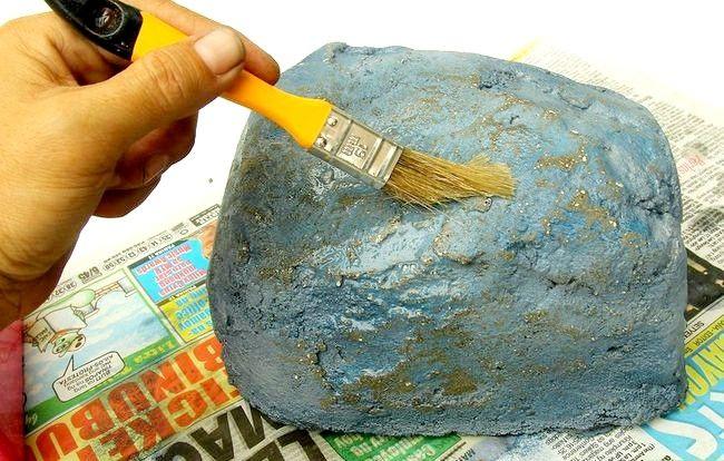 Imagine cu titlul Faceți pietre false cu beton Pasul 13