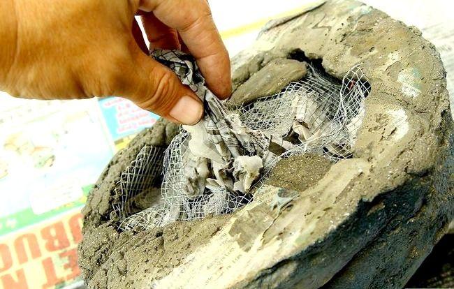 Imagine cu titlul Faceți pietre false cu beton Pasul 15