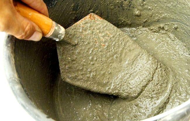Imaginea intitulă Faceți pietre false cu beton Pasul 7