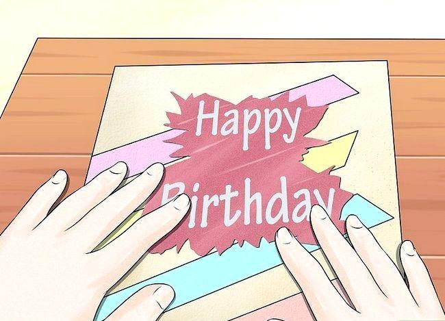 Imaginea intitulă Faceți carduri pentru ziua de naștere la domiciliu Pasul 2