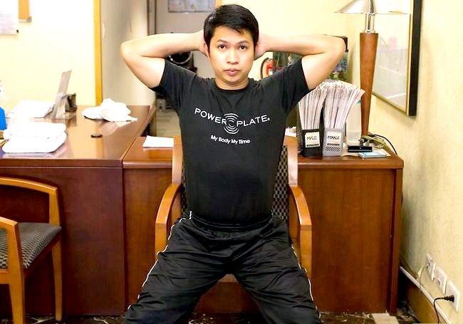 Imaginea intitulată Exercitarea abdomenului în timpul ședinței Pasul 14