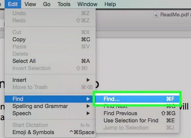 Imaginea intitulată Căutați un cuvânt sau o expresie într-un document PDF Pasul 14