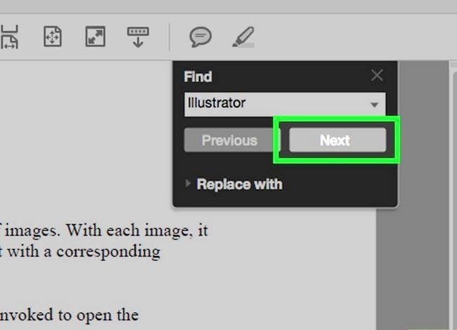 Imaginea intitulată Căutați un cuvânt sau o expresie într-un document PDF Pasul 5