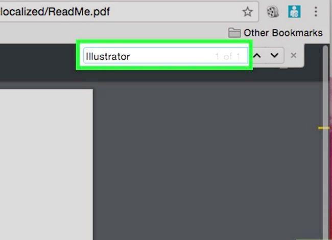 Imaginea intitulată Căutați un cuvânt sau o expresie într-un document PDF Pasul 9