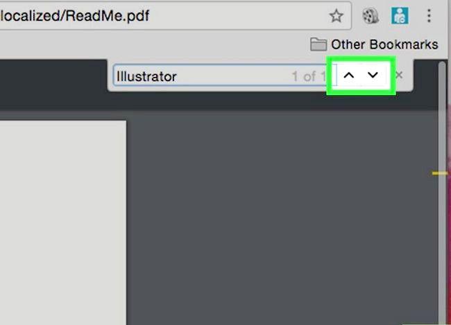 Imaginea intitulată Căutați un cuvânt sau o expresie într-un document PDF Pasul 10