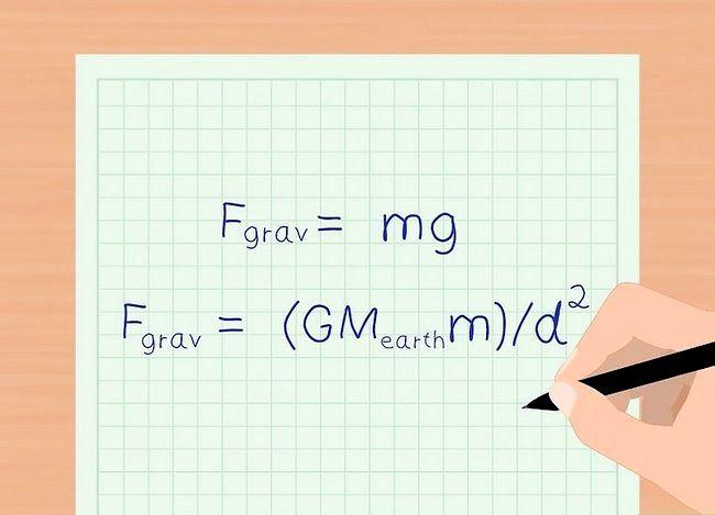 Imaginea intitulată Calculați Forța de Gravitate Pasul 7