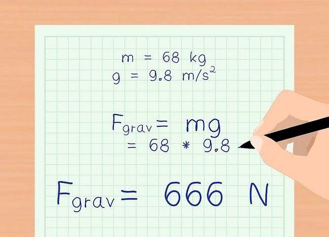 Imaginea intitulată Calculați Forța de Gravitate Pasul 10